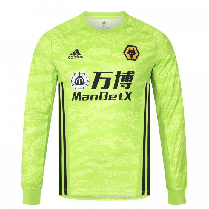 2019/20 Wolves Home Goalkeeper Shirt - Adult