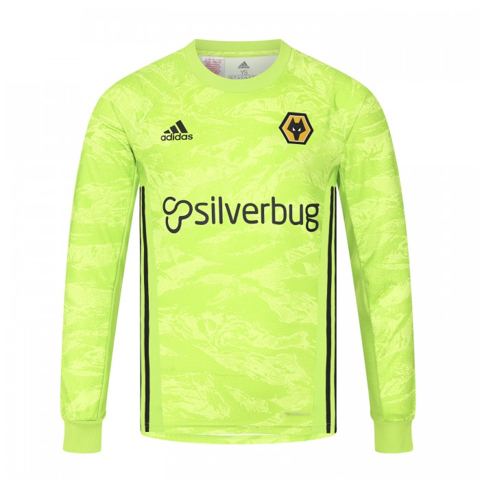 Wolves 2019/20 Home Goalkeeper Shirt - Junior