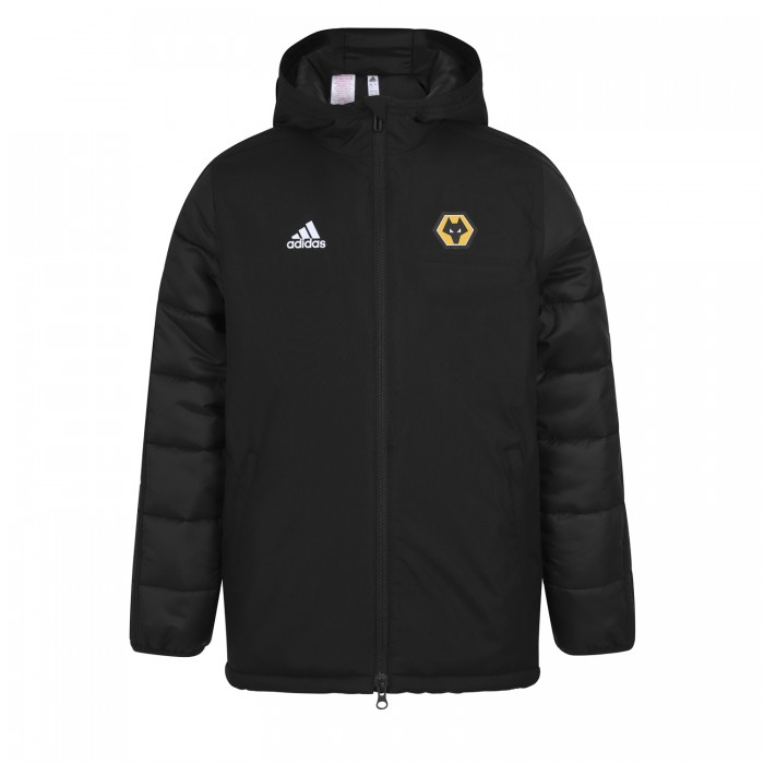 2019-20 Matchday Winter Jacket - Black - Jnr