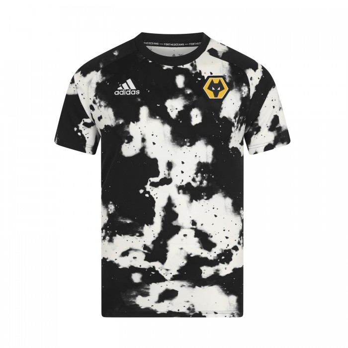 Wolves Warm up adidas Parley T-Shirt