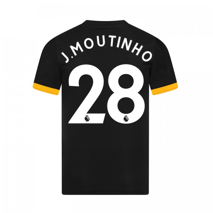 19-20 Wolves Away Shirt with MOUTINHO Print - Jnr