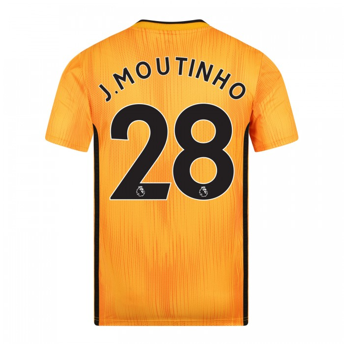 19-20 Wolves Home Shirt with MOUTINHO Print - Jnr