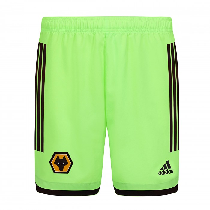 2020-21 Wolves Home Goalkeeper Shorts - Adult