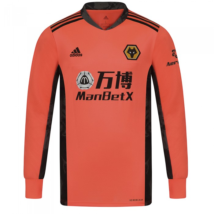 2020-21 Wolves Away Goalkeeper Shirt - Adult
