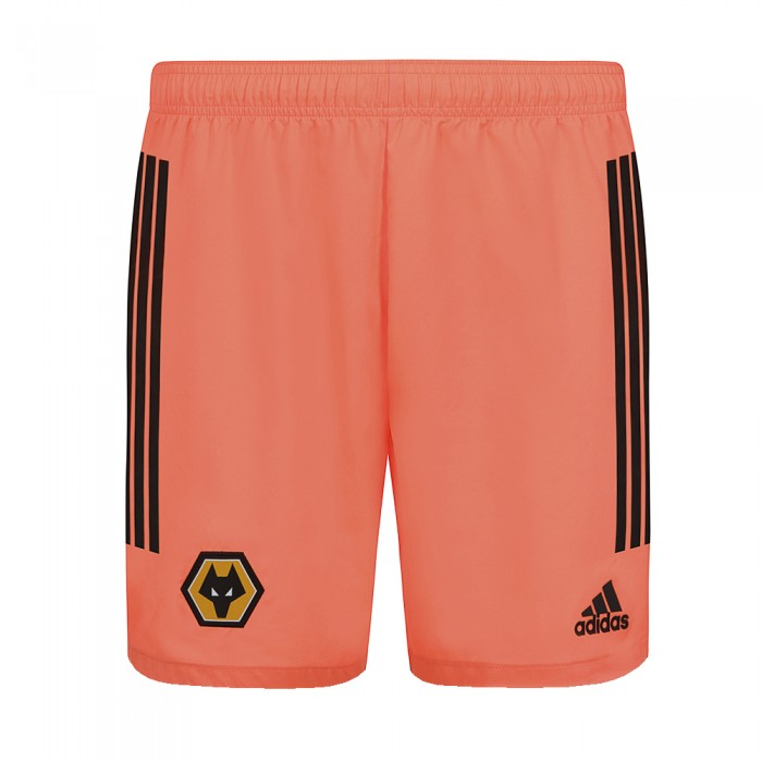 2020-21 Wolves Away Goalkeeper Shorts - Junior