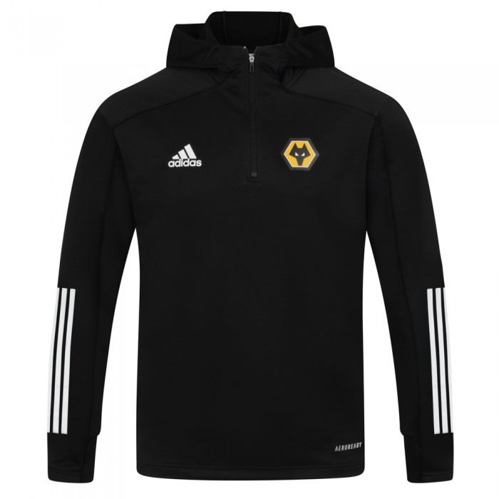 2020-21 Matchday Track Hoodie - Black