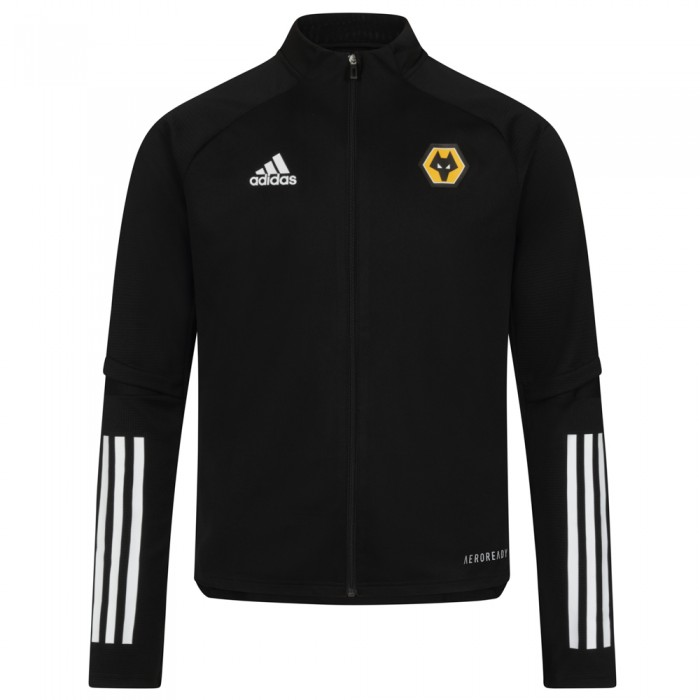 2020-21 Matchday Training Jacket - Black