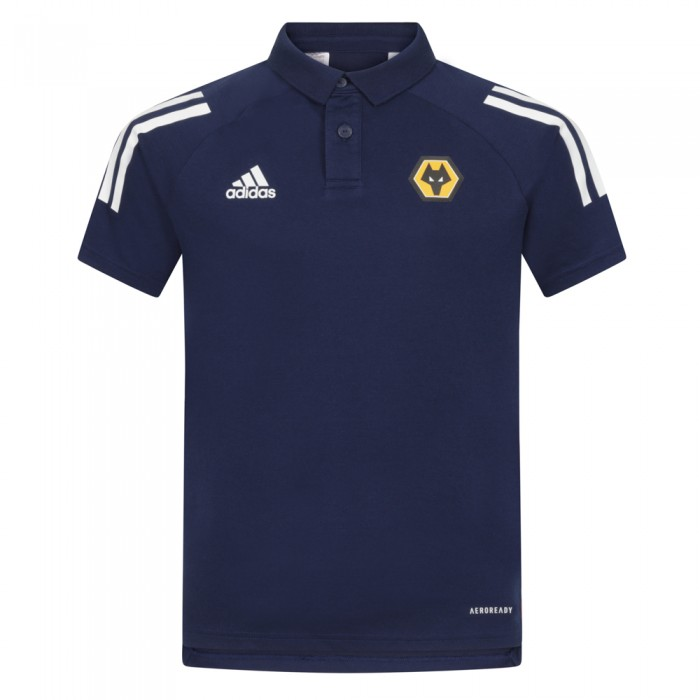 2020-21 Players Polo - Navy - Jnr
