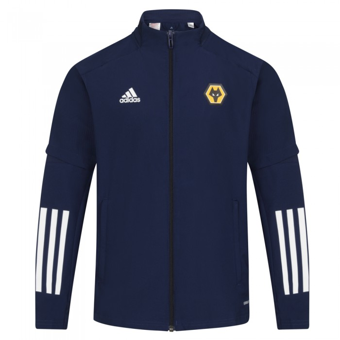 2020-21 Players Presentation Jacket - Navy - Jnr