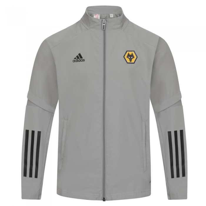 2020-21 Backroom Presentation Jacket - Grey - Jnr