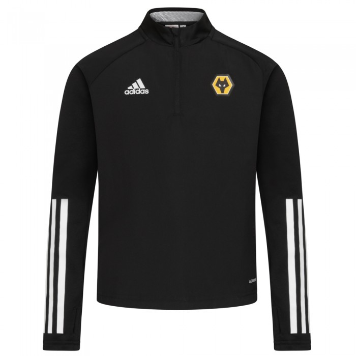 2020-21 Matchday Warm Top - Black - Jnr