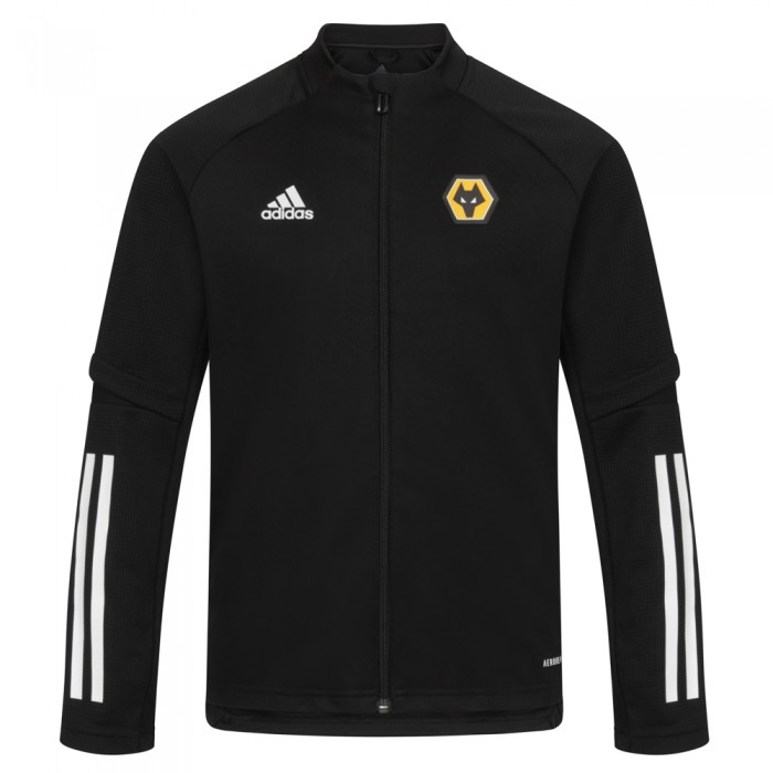 2020-21 Matchday Training Jacket - Black - Jnr