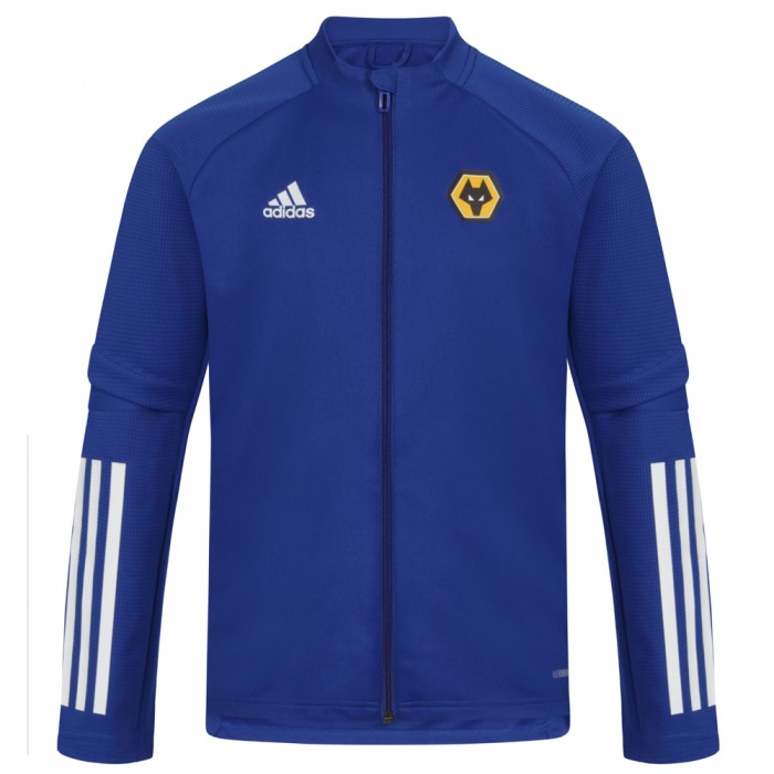 2020-21 Refresh Training Jacket - Blue - Jnr