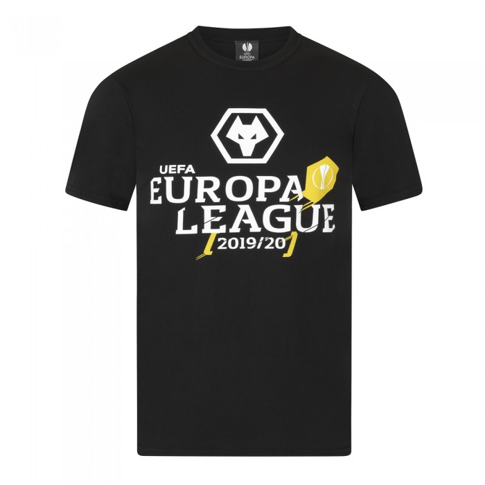 Europa League T-Shirt - Black