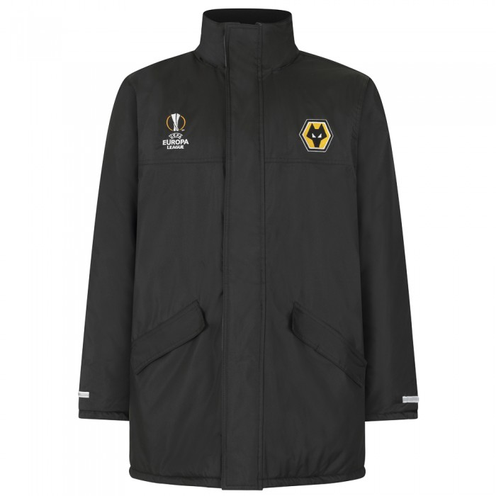 Europa League Heavy Jacket - Black