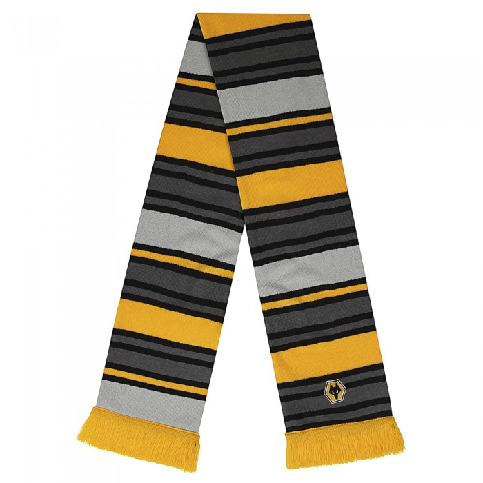 Multi Stripe Bar Scarf