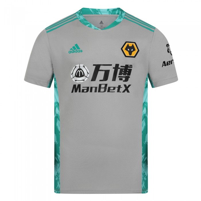2020-21 Wolves 3rd SS Goalkeeper Shirt - Adult