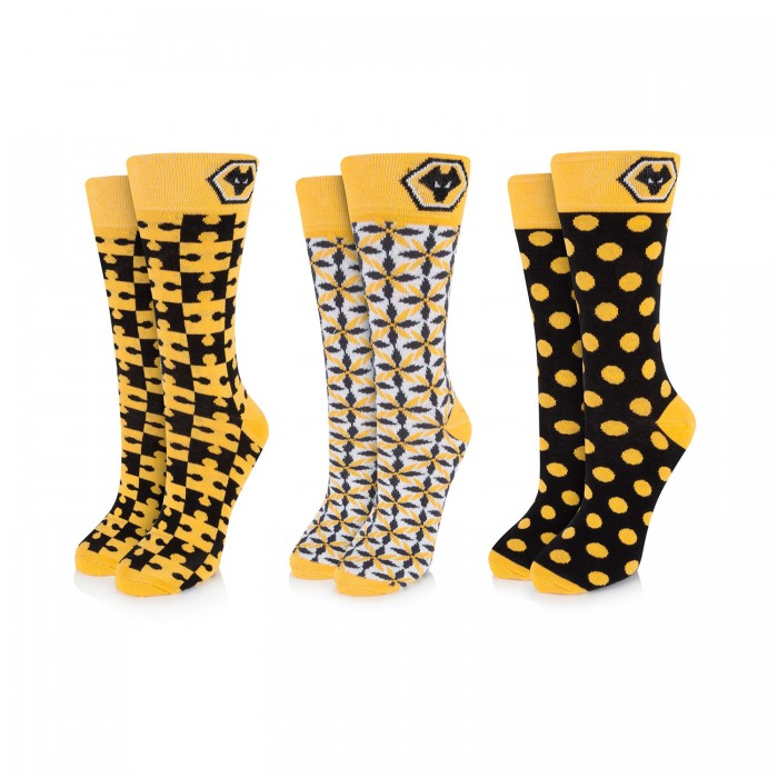 Three Pack Adult Sock Pack
