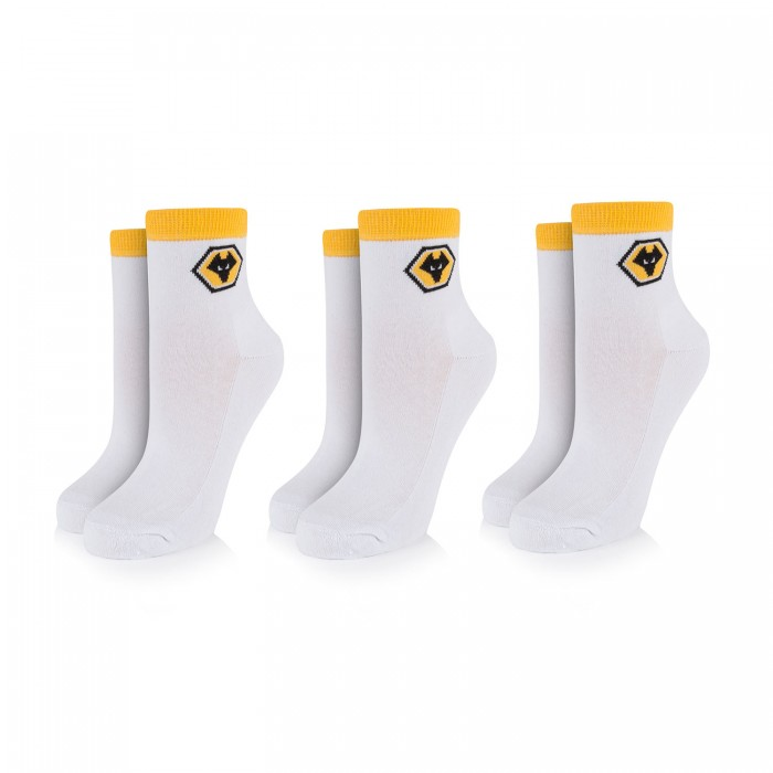 Adult Three Pack Sport Sock