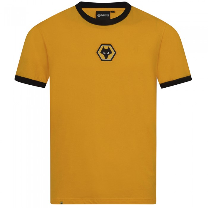 Essentials Centre Crest T-Shirt - Gold