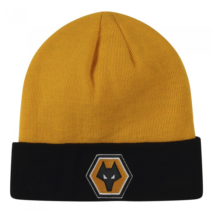 Core Knitted Hat - Gold