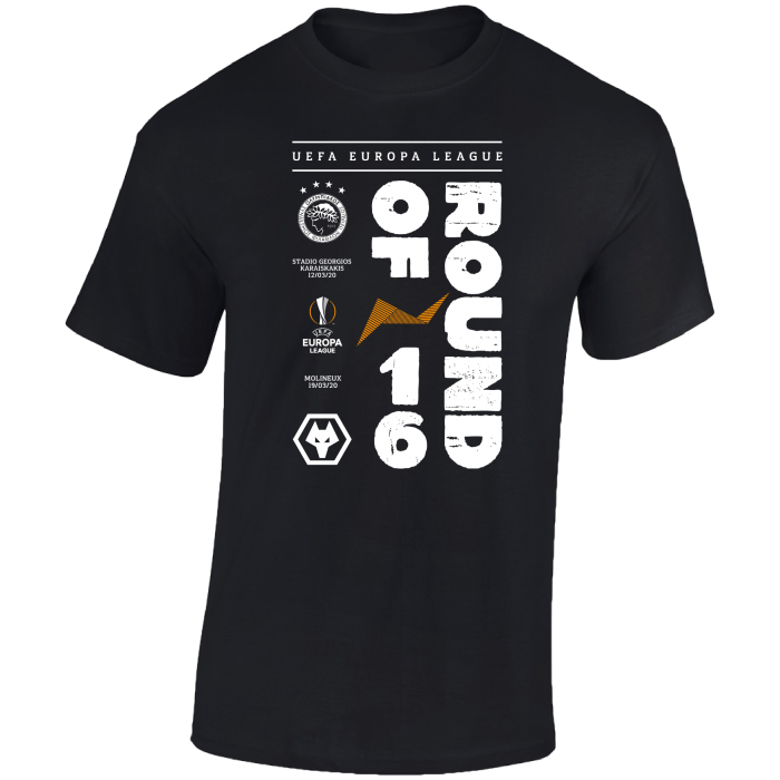 Round of 16 v Olympiacos Printed T-Shirt