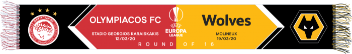 Round of 16 v Olympiacos Woven Match Scarf
