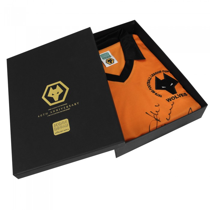 Limited Edition 1980 League Cup Final Boxed Shirt