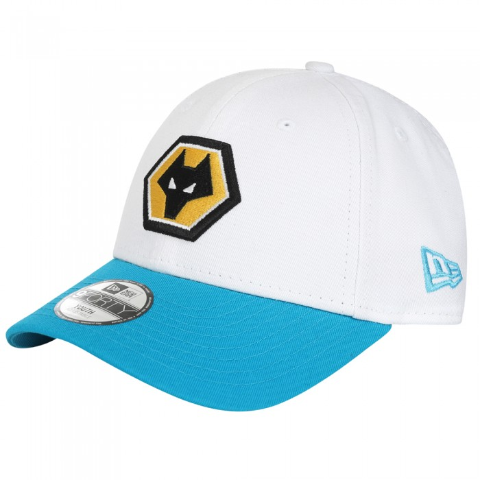 Away Kit 9FORTY Cap by New Era - White/Blue - Kids