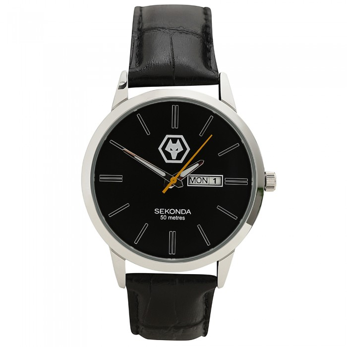 Sekonda Leather Strap Watch