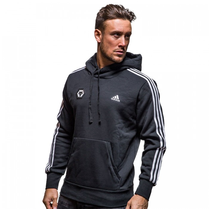 Adidas 2018 Three Stripe Hoody