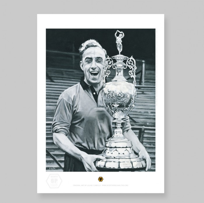 Billy Wright - A3 Print - By Louise Cobbold