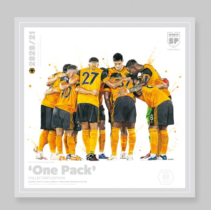 One Pack 20/21 - 40cm Square Print