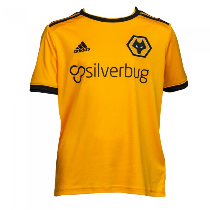 2018-19 Wolves Home Shirt - Junior