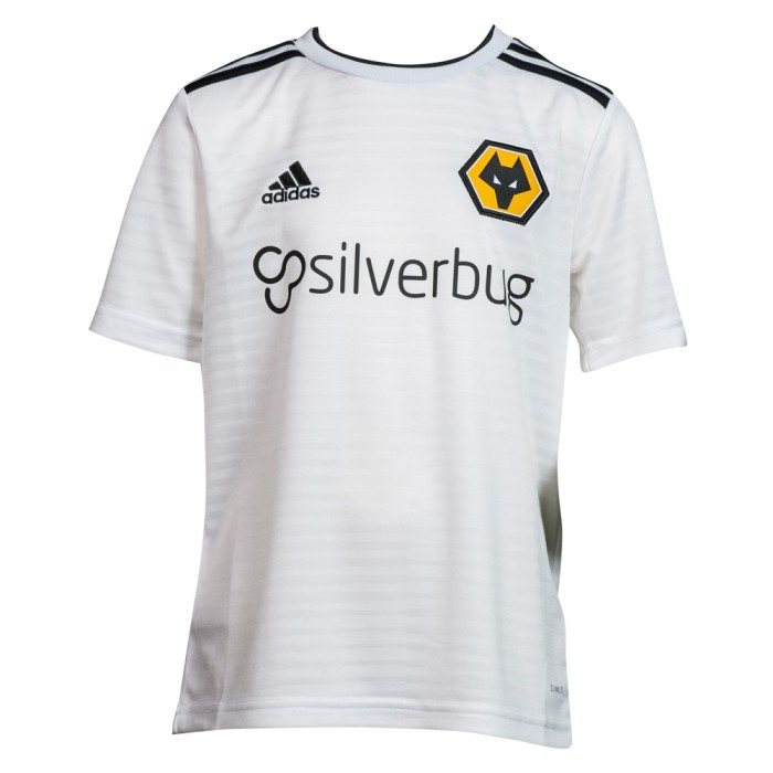 2018-19 Wolves Away Shirt - Junior