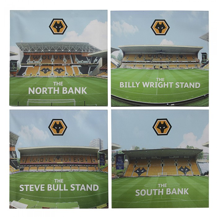 MOLINEUX CANVAS PRINTS - FOUR SET