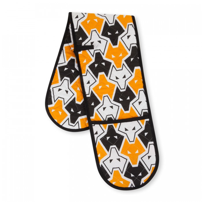 All Over Wolf Oven Gloves