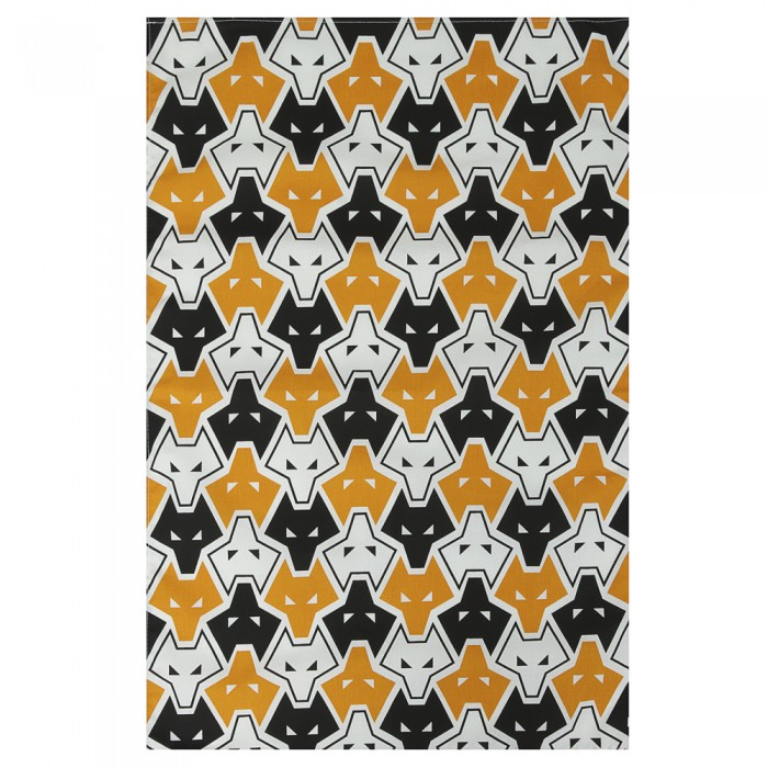 All Over Wolf Tea Towel